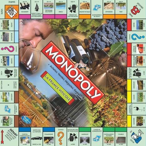 Un tout nouveau Monopoly pour Noël: le Monopoly de la France Viticole | Le Vin et + encore | Scoop.it
