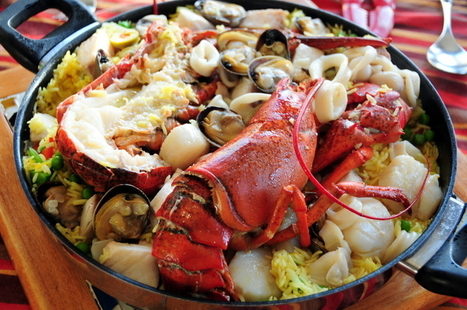 seafood paella with Maine lobster | Yummy Tummy | Scoop.it