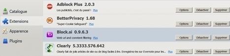 Block.si : module de contrôle parental pour Firefox et Chromium | Informatique | Scoop.it