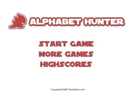 Alphabet Hunter | Free Games that Pay You | Scoop.it