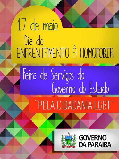 A Liga Gay: Governo da Paraíba realiza feira de cidadania LGBT em Cajazeiras | Brasil-News | Scoop.it