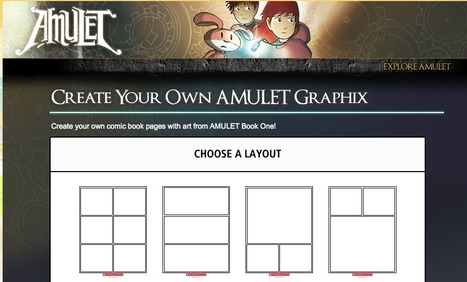 Make Your Own AMULET Graphic Novel | comics and graffic | Scoop.it