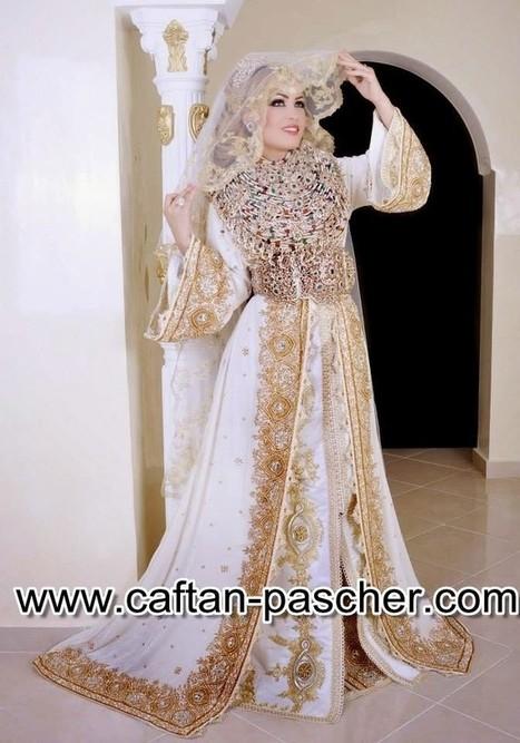Takchita marocaine chic pour le mariage | caftanboutique | Scoop.it