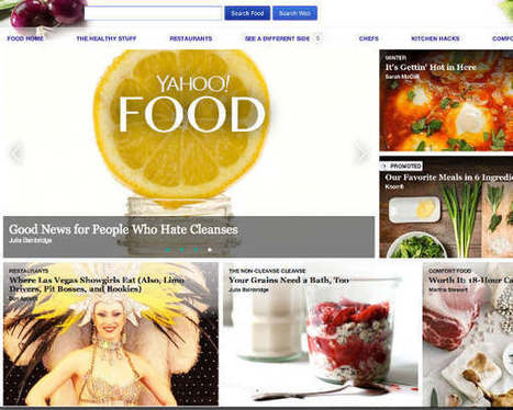 Yahoo Launches Digital Food Magazine - The Daily Meal | Digital Tablet Publishing | Scoop.it