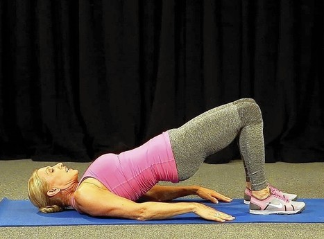 The bridge exercise helps lift and tighten lower body muscles - Los Angeles Times | Fitness | Scoop.it