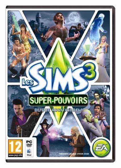 EA Games annonce Les Sims 3 Super-pouvoirs   So What? Votre magazine féminin en ligne   CyberNews - Games   Scoop.it