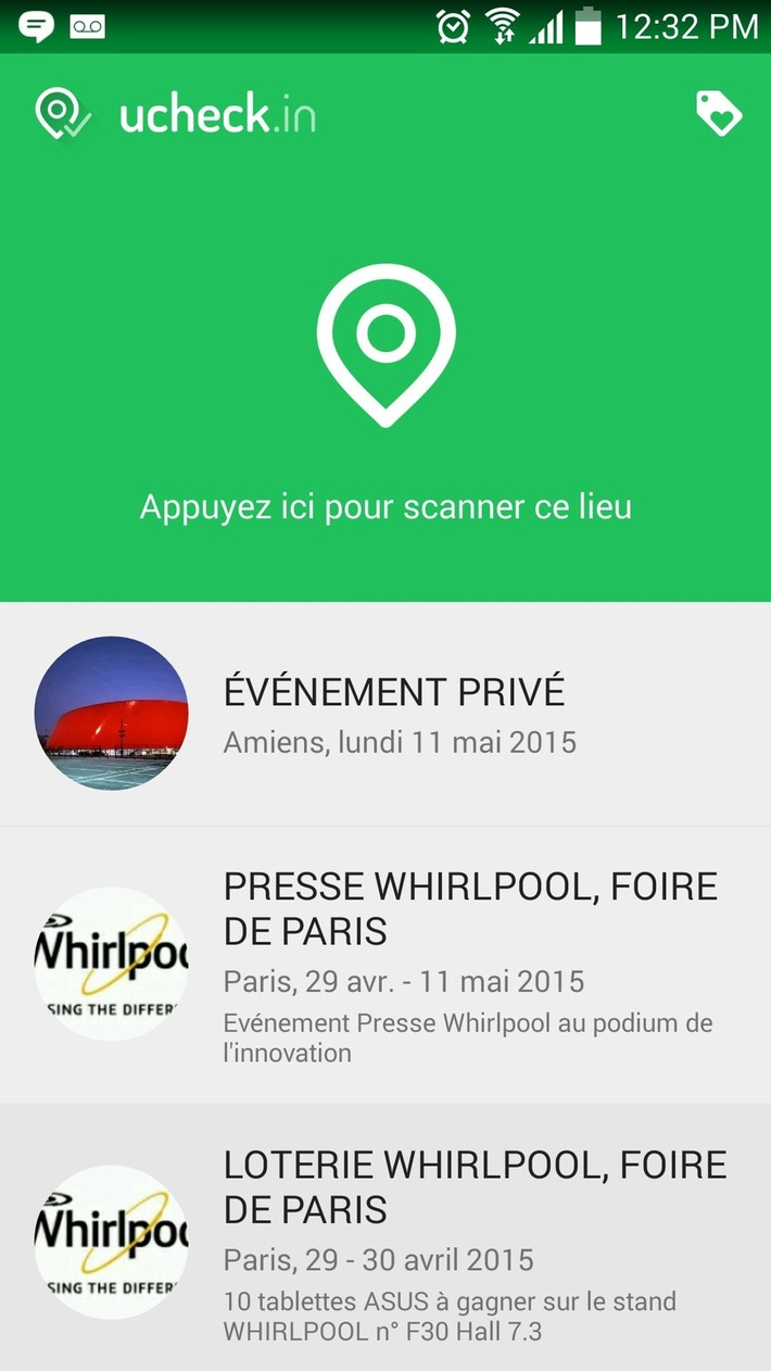 CP Foire de Paris : Whirlpool anime son stand avec l'app UCHECK.IN de Stimshop | Internet du Futur | Scoop.it