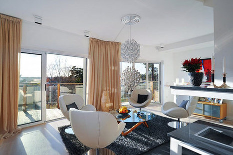 Luxury house with modern interior in Stockholm | Wonderful home | home decor | Scoop.it