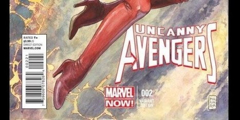Milo Manara – Sua la variant cover di Uncanny Avengers 2 | DailyComics | Scoop.it