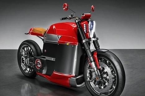 Tesla Model M : un concept de moto électrique | Vous avez dit Innovation ? | Scoop.it