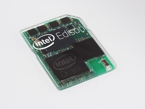 Intel Edison, l'ordinateur minuscule qui tient dans une carte SD | {niKo[piK]} | 100% e-Media | Scoop.it