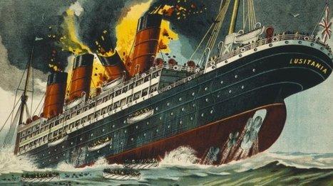 7 mai 1915 - Naufrage du Lusitania : coulé en 18 minutes, un siècle de mystères | Nos Racines | Scoop.it
