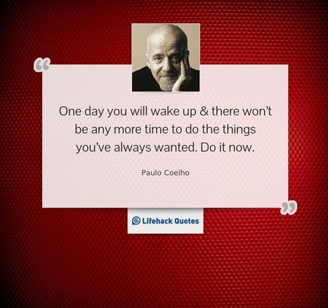 Daily Quote: One Day You Will Wake Up And… | Life @ Work | Scoop.it