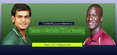 [Pak vs WI T20 Live] Pakistan vs West Indies Live Streaming - Prediction   Cricket Updates 365   Scoop.it