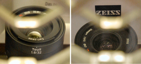 "The Carl is gone: from ""Carl Zeiss"" becomes ""Zeiss"" 