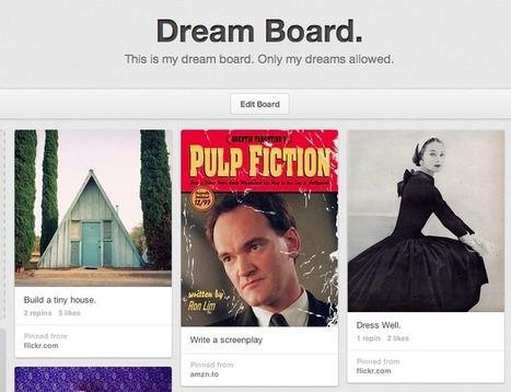 Why You Need a Dream Board | school library apps | Scoop.it