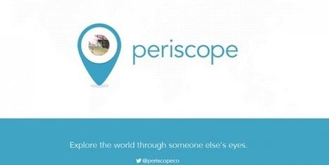 Periscope, réseau social révolutionnaire pourri par les polémiques | Réseaux sociaux | Scoop.it