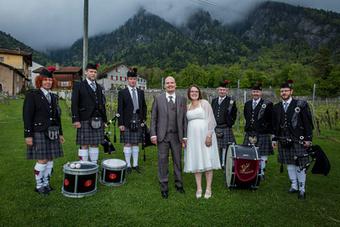 Hochzeit in Maienfeld von Franzisca & Daniel | Profifotografin und Hochzeitsfotografin in der Schweiz | Scoop.it