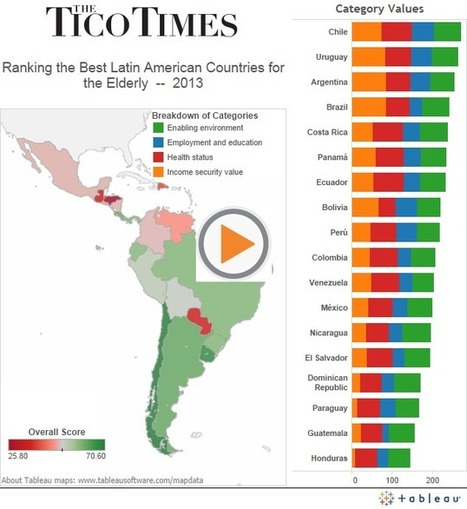 Costa Rica ranked best Central American country for elderly, retirees, new ... - Tico Times   Central American Trade Systems   Scoop.it