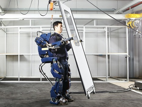 Hyundai dévoile son prototype d'exosquelette Iron Man Suit - H+ MAGAZINE | Une nouvelle civilisation de Robots | Scoop.it