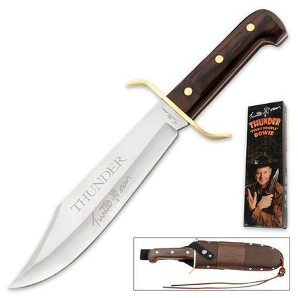 TURTLE MAN 14″ THUNDER BOWIE Hunting Knife TURTLEMAN LIVE ACTION Series | Survival Knives by Edge Survival Knives.com | Scoop.it
