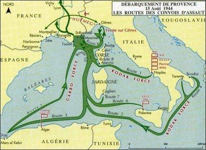 Débarquer en Provence – août 1944 | Chroniques d'Antan | Nos Racines | Scoop.it