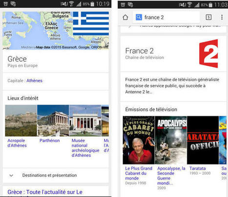 SEO : Google introduit de nouveaux carrousels dans les résultats sur mobile   SMO SEO Media   Scoop.it
