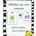 Affiches des sons communs - French Complex sound posters | K-2   French language | Scoop.it