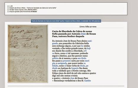 PESQUISANDO A HISTÓRIA : SOFTWARE PERTITE A TRANSFORMAÇÃO DE DOCUMENTOS MANUSCRITOS HISTÓRICOS EM ARQUIVOS DIGITAIS | History 2[+or less 3].0 | Scoop.it