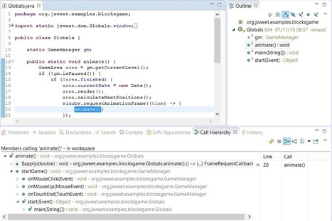 JSweet: a transpiler to write JavaScript programs in Java   Web tools and technologies   Scoop.it