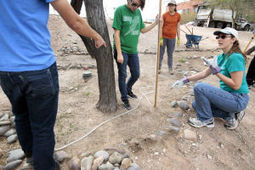 University of Arizona students installing new rainwater-harvesting systems   Arizona Daily Star   CALS in the News   Scoop.it