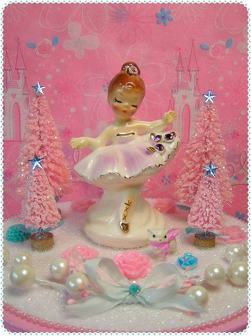 Pretty pink ballerina figurine | Kitsch | Scoop.it