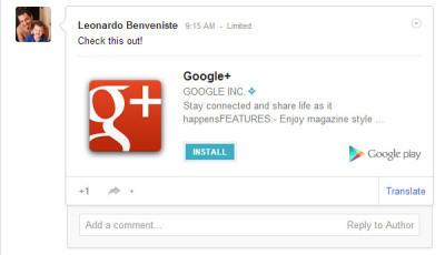 Ora è possibile installare applicazioni direttamente da Google+ | SEO or not SEO | Scoop.it
