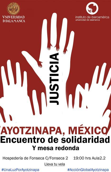 Encuentro de solidaridad con Ayotzinapa el próximo lunes en el Instituto   Instituto de Iberoamerica - Universidad de Salamanca   Mexicanos en Castilla y Leon   Scoop.it