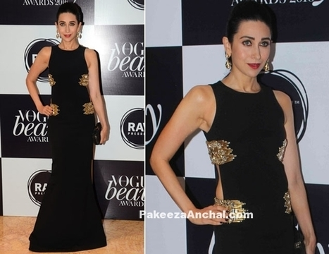 Karishma Kapoor in Monisha Jaising's Gown at Vogue Awards 2016 | Indian Fashion Updates | Scoop.it