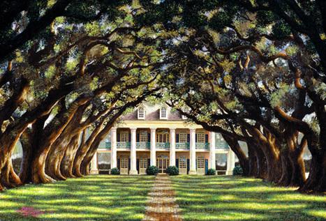 Brad Thompson Fine Art - Art Gallery | Oak Alley Plantation: Things to see! | Scoop.it