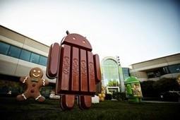 Google sort discrètement la version 4.4.4 de KitKat | Lettre de veille technologique | Scoop.it