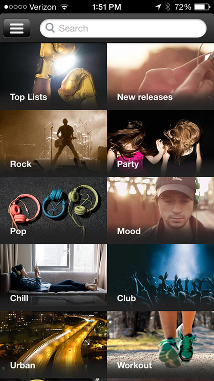 Spotify Update Makes It Easier To Browse For Music -- AppAdvice | MUSIC:ENTER | Scoop.it