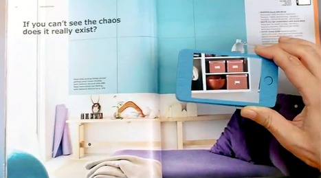 IKEA bypasses QR codes, catalog to use augmented reality | 3D design learning | Scoop.it
