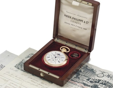Rare Patek Philippe Pink Gold Pocket Watch to Be Sold at Christie's New York | latest women fashion watches | Scoop.it