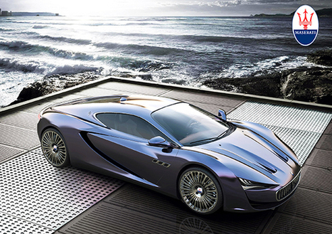 Maserati Bora Concept | Art, Design & Technology | Scoop.it