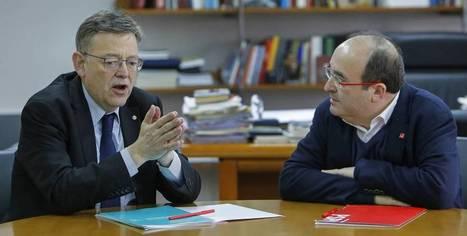 Iceta i Puig reivindiquen una reforma de la Constitució basada en la Declaració de Granada, Maria Josep Serra   Diari de Miquel Iceta   Scoop.it
