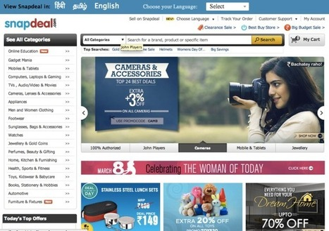 EBay Bets Big On India, Pours Another $134M Into Online ...   ebay   Scoop.it