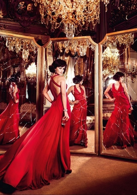 Penélope Cruz Tempts Fate For Campari's Red-Hot 2013 Calendar | Italian Inspiration | Scoop.it