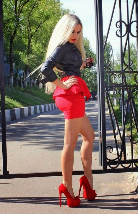 Red Heels need a Shining | Styles of Sophisticated Femdom | Scoop.it