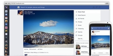 Facebook Announces New Newsfeed - Get On the Waitlist Now | You dwell Fein | Scoop.it