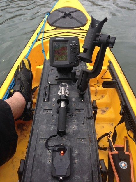 Surface Mount Retractor + StakeOut Pole Clip = Safe Boga Grips : ACK – Kayaking, Camping, Outdoor Adventure Blog | AustinKayak | Scoop.it