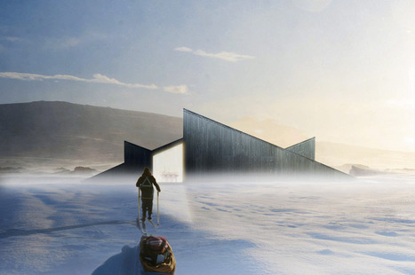 Norvège, Mountain Hill Cabin par Håkon & Haffner | Architecture et montagne | Scoop.it