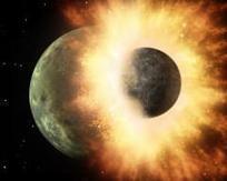 La Lune serait bien née de la collision de la Terre avec un objet de la taille de Mars | Astronomie | Scoop.it