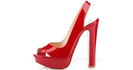 Christian Louboutin Marple Town Red Slingbacks | Luxury Lifestyle Trend | Scoop.it
